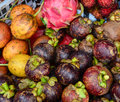 Tropical fruits for sale in Gili Meno island, Indonesia Royalty Free Stock Photo