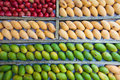 Tropical fruits varieties of malaysia fruit Stock Photos