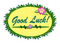 Tropical Good Luck Sign Stock Image