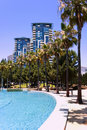 Tropical high-rises Royalty Free Stock Photography