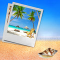Tropical holidays Royalty Free Stock Photo
