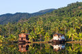 Tropical hotel in the jungle. Island Koh Chang Royalty Free Stock Photography
