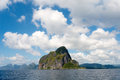 Tropical Island in El Nido, Palawan, The Philippines Royalty Free Stock Photo