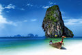 Tropical island landscape background thailand beach Stock Photo