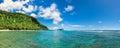 Tropical Lalomanu in Samoa Royalty Free Stock Photo