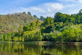 Tropical Landscape, Lake And H...