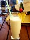 stock image of  Tropical non- alcoholic Pina Colada