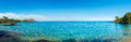 Tropical Ocean Panorama Royalty Free Stock Photos
