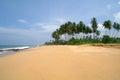Tropical paradise beach sri lanka Stock Photo