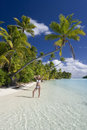 Tropical Paradise - The Cook Islands Stock Images