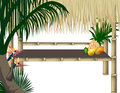 Tropical Party Background Stock Photos