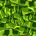 Tropical pattern with banana leaves. Vector illustration.