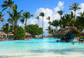Tropical pool bar Royalty Free Stock Photography