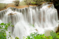 Tropical Rain forest waterfall Stock Photo