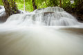 Tropical Rain forest waterfall Royalty Free Stock Images