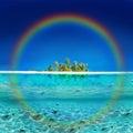 Tropical Rainbow Island