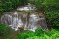 Tropical rainforest waterfall Stock Photography