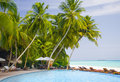 Tropical resort Royalty Free Stock Images