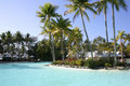 Tropical resort, Port Douglas, Queensland Stock Images
