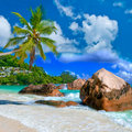 Tropical scenery Royalty Free Stock Photo