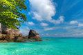Tropical scenery of Similan islands Royalty Free Stock Photos