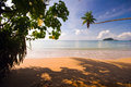 Tropical sea and beach Royalty Free Stock Photography