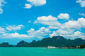 Tropical sea and coast near Koh Samui Royalty Free Stock Photo