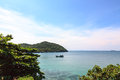 Tropical sea view On Koh Seechang island Thailand Stock Images