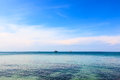 Tropical sea view On Koh Seechang island Thailand Royalty Free Stock Photography