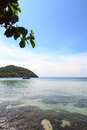 Tropical sea view On Koh Seechang island Thailand Royalty Free Stock Image
