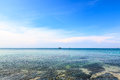 Tropical sea view On Koh Seechang island Thailand Royalty Free Stock Photos