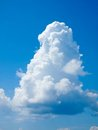 Tropical Sky - Cumulus clouds Stock Images