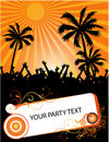 Tropical summer party Stock Photography