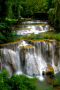 Tropical waterfall Royalty Free Stock Photography