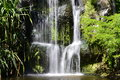 Tropical Waterfall Royalty Free Stock Photo