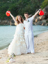 Tropical wedding Royalty Free Stock Photo