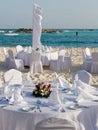 Tropical Wedding Stock Image