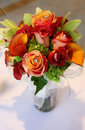 Tropical Wedding Bouquet - Top View