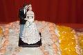 Tropical wedding dolls Royalty Free Stock Photo