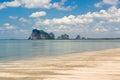 Tropical wild beach Royalty Free Stock Photo