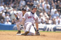 Trot nixon boston red sox of image taken from color slide Royalty Free Stock Photos