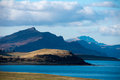 Trotternish ridge isle of skye scotland Stock Images
