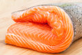 Trout Fillet Raw Royalty Free Stock Photo