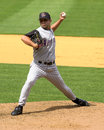 Troy brohawn arizona diamondbacks pitcher image taken from color slide Royalty Free Stock Photos