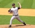 Troy brohawn arizona diamondbacks pitcher image taken from color slide Stock Photography
