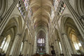 Troyes - Cathedral interior Royalty Free Stock Photo
