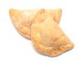 Trucha de batata - traditional canarian Christmas pastry made wi Royalty Free Stock Photo