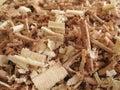 Trucioli di legno 2 Fotografie Stock