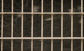 Truck car radiators front grill view behind Stock Photography