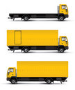 Truck car template Stock Images
